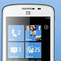 ZTE Tania arrives in the UK: affordable 4.3-inch Windows Phone