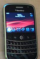 BlackBerry 9000 brings new interface