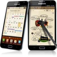 Samsung rolls out an update to the Galaxy Note, and no, it's not Android Ice Cream Sandwich