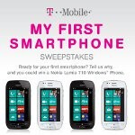 Nokia Lumia 710 and one year of free service are up for grabs in T-Mobile's new sweepstakes