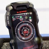 G-Shock phone is ugly, but tough enough not to care