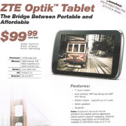 "Sprint to out 7"" ZTE Optik slate on February 5 - mere $100 gets you dual-core and 16GB of memory"