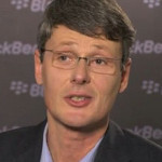 New RIM CEO tests other platforms, says things will change
