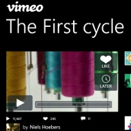Vimeo outs an official app for Windows Phone, artsy video projects commence
