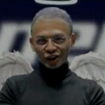 Is that Steve Jobs with Angel wings, promoting an Android tablet in Taiwan?