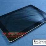 Leaked images bear the model number TF300T, presumed to be the Asus Eee Pad Transformer 2