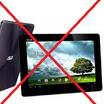 U.K. retailer Clove stops selling Asus Transformer Prime because of issues with quality