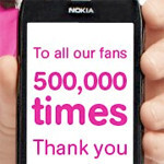 T-Mobile giving 30% off an accessory in honor of 500,000 Facebook fans