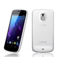 Samsung Galaxy Nexus officially dressed in white