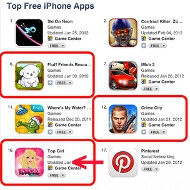 Apple nipping an App Store rankings scam - $5000 gets your app into the top 25, guaranteed