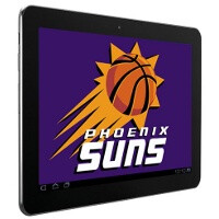 Phoenix Suns adopt Samsung Galaxy Tab 10.1 as team's tablet, marking a new era in the NBA