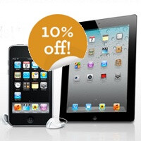 Today only: iPads and iPods 10% cheaper on NewEgg