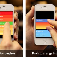 Clear: a to-do list app worth its salt arrives for iOS with buttonless interface
