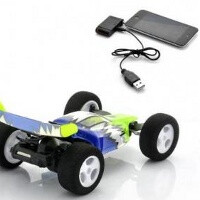 Stunt Car Racer is an awesome toy car you can control with your iPhone