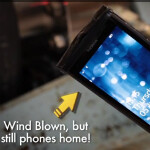 Nokia Lumia 800 goes Mach 5... in a wind tunnel