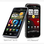 HTC Rezound and LG Spectrum just $99 at Verizon online store