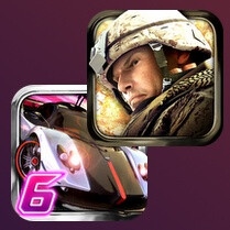 Asphalt 6 Adrenaline HD and Modern Combat 2 Black Pegasus HD now free, but only on BlackBerry PlayBook