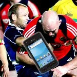 First images of the AT&T bound Samsung Rugby Smart show off its rugged form factor