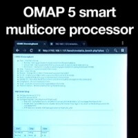 TI shows off its dual-core Cortex A15-based OMAP 5 beating a quad-core Cortex A9 device
