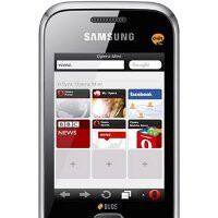 Future Samsung feature phones are expected to be preloaded with Opera Mini