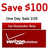 Verizon chopping $100 off 4G devices on Leap Day
