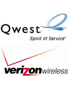 Qwest partners with Verizon Wireless