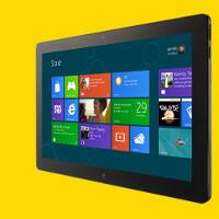 Windows 8 tablet UI is dominated by gestures