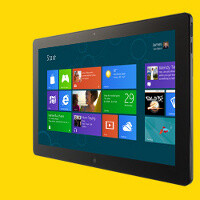 Windows 8 tablet UI is dominated by gestures