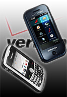 Samsung Glyde U940 and Blackberry Curve 8330 releasing on May 9th