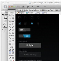 Android Design releases ICS stencils for devs