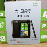 HTC to be the first Chinese-localized Windows Phone