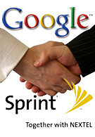 Sprint and Google announced a partnership