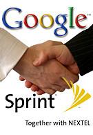 Sprint and Google announced a partnership