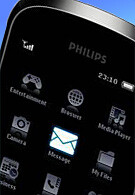 Philips is making an entry to the touchphone market?