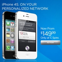 iPhone 4S price drops to $150, courtesy of C Spire