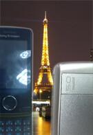 New photos of Sony Ericsson Paris