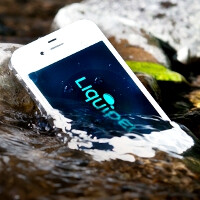 Liquipel waterproof phone coating tech demo (video)