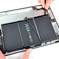 Apple managed to cram 11, 666 mAh battery in the new iPad, 70% more than the iPad 2