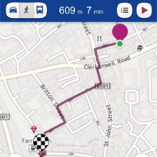 Nokia Maps brings voice-guided navigation to other platforms, pedestrians only for now