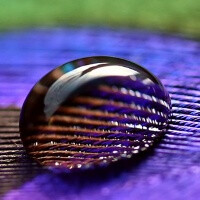 A drop of water adds macro depth to your iPhone's camera