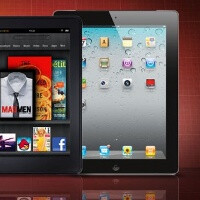 Glowing Kindle Fire sales squeeze iPad's global share