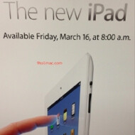 Apple Stores to open 8am Friday and start doling out new iPads