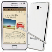 Samsung Galaxy Note in white on sale for $579 plus five bucks shipping, today only