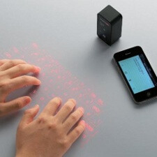 Projection keyboard arrives straight from your imagination, price also outworldly
