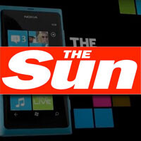 Nokia takes over 'The Sun' with Lumia ads