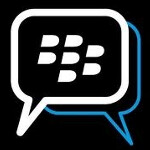 BlackBerry Curve 9320 is pictured with its dedicated BBM button