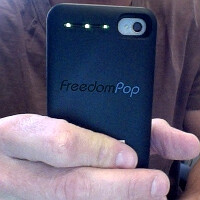 "FreedomPop's ""free broadband"" project is a WiMAX-ed iPhone case that gets you 1GB of monthly data"