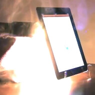 New iPad gets obliterated again, this time by lasers