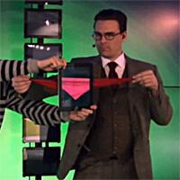 Magician duo brings iPad magic to a whole new level