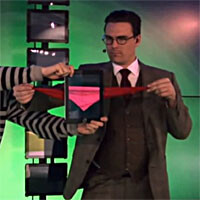 Magician duo brings iPad magic to a whole new level